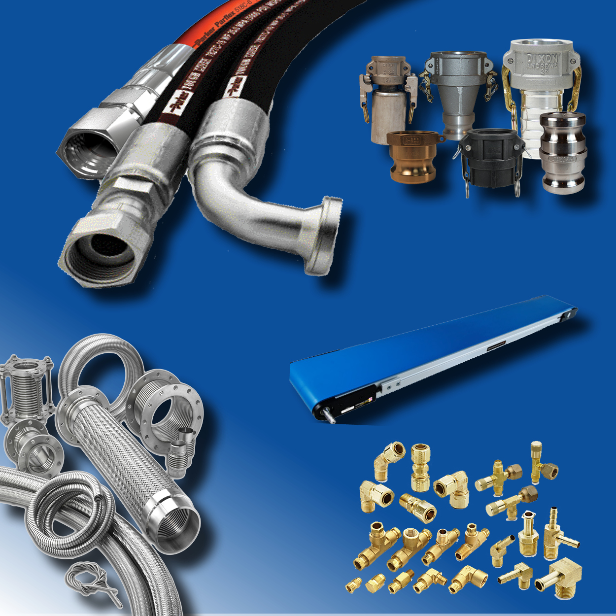 Hose, Fittings, Pipe, & Tube