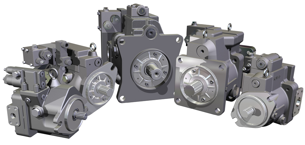 Kawasaka Axial Piston Pumps