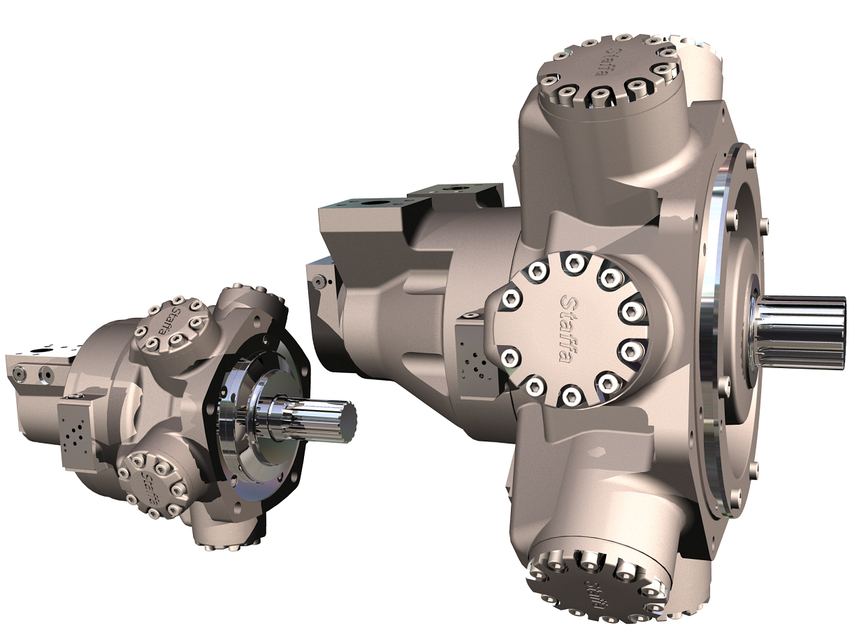 Kawasaka Radial Piston Motors