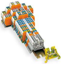 WAGO DIN Rail Mounted Terminal Blocks
