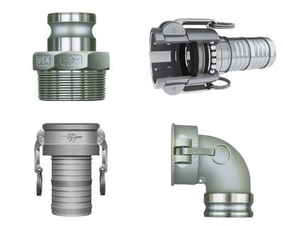 PT Coupling Cam and Groove Couplings